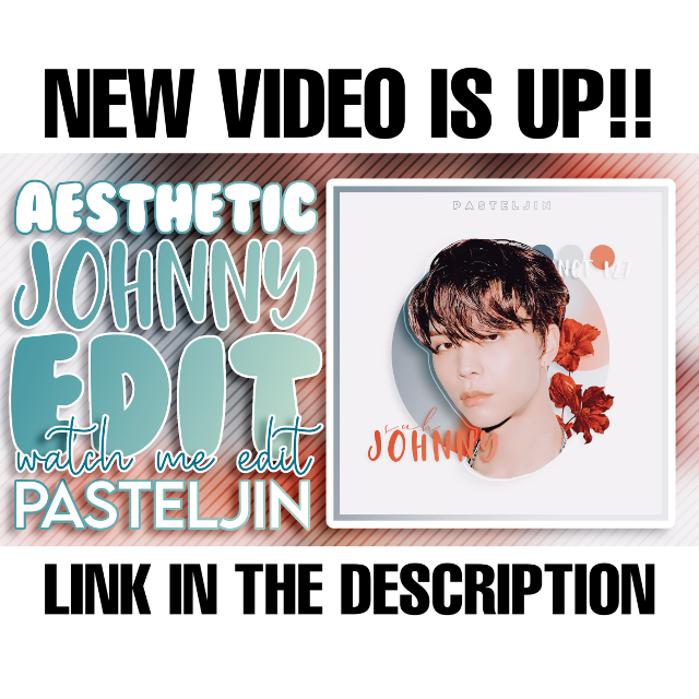 https://youtu.be/mBch9hwBwUU  IF THE LINK DOESN'T WORK >>> just search for pasteljin and you'll most likely find my channel 🥰❤  #kpopedit #pasteljin #pasteljintutorial #copeditors #johnnysuh #freetoedit