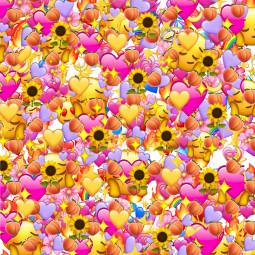 freetoedit sticker emoji background emojiiphone