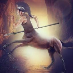 kentaur greekmythology hybrid warrior freetoedit