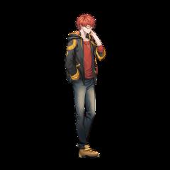 anime animeboy cuteanimeboy mysticmessenger 707