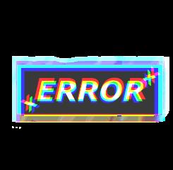 glitch mistake error freetoedit