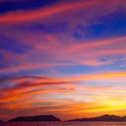 sunset sunsetphotography sunriseandsunsetworld seascape sea