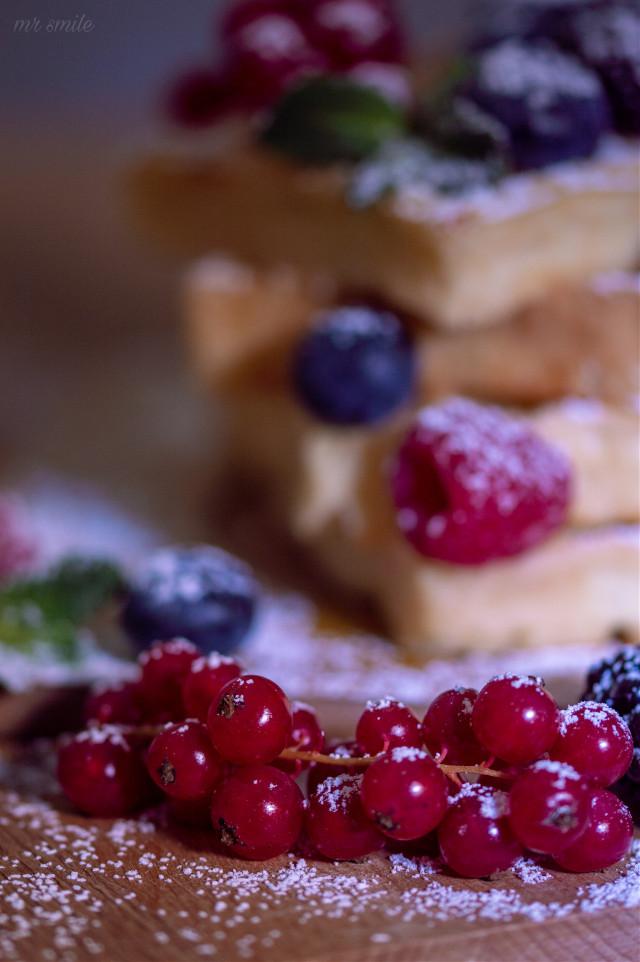 #freetoedit #closeup #berries #cakes #stilllife