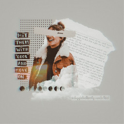 aesthetic grey quote dots newspaper freetoedit