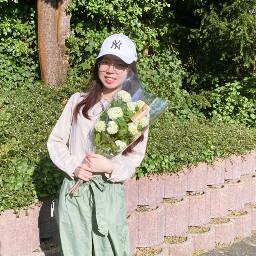 girl flower sommer