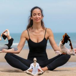freetoedit yoga girls girl concours ecminime minime