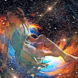 freetoedit rainbow glow lensflare doubleexposure