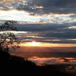 sunset clouds 5/24 virginia the jamesriver freetoedit