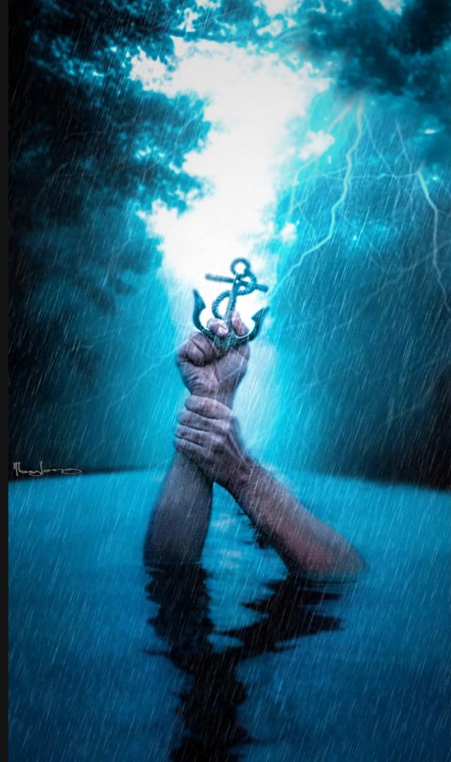 After the storm , calm comes.#freetoedit #editedbyme #editedwithpicsart #manipulation #surreal #creative #hand #rain #picsart #taylor_fotoshop_art
