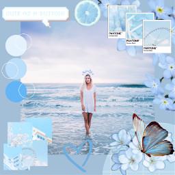 freetoedit blue blueaesthetic aesthetic paleblue