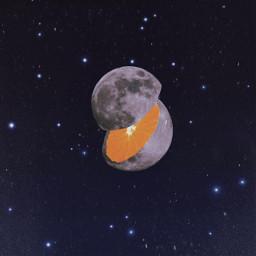 freetoedit moon moonedit moonfruit space