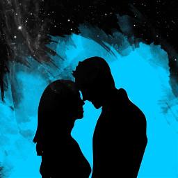 mygirl kissing kiss blacjandwhite black freetoedit