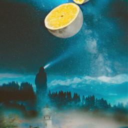 nightbackground limon🍋 moon remixchallenge picsart freetoedit ircmoonbeam moonbeam