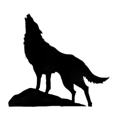 wolf wolves silhouette wolfsilhouette blackwolf freetoedit