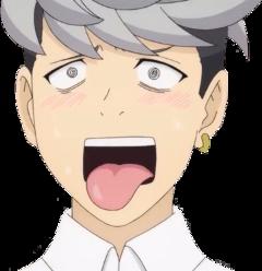 freetoedit metori saikik anime stickers
