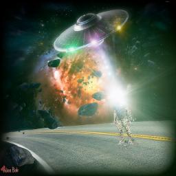alien aliennation alien👽 outerspace spacetraveler