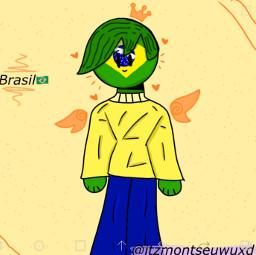 brasil countryhumans