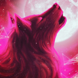 red wolf redwolf howlingwolf howling freetoedit
