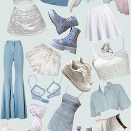 niche nichememe cute blue angelcore freetoedit