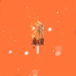 heat hot fire food popsicle freetoedit