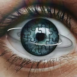freetoedit eyes puzzlesyes puzzle trending