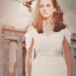 freetoedit goddess hermione harrypotter greek