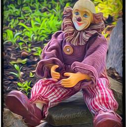 clowns dolls challenge picsartedeting oilpaineffect