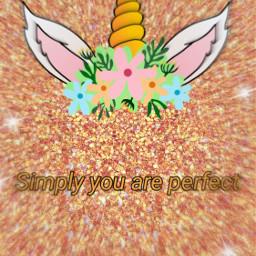 freetoedit perfect beyourself love unicorn