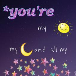 freetoedit youre sun moon stars