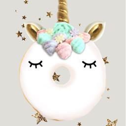 freetoedit unicorn donut unicorndonut