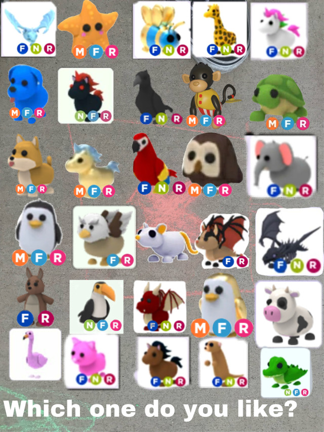 #adoptme #roblox which one do you like #freetoedit