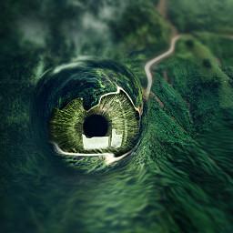 freetoedit inspire surreal dinosaur eye