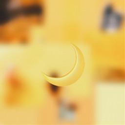 freetoedit yellow aesthetic yellowaesthetic moon