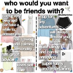 friends bff chooseone choose choice freetoedit