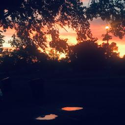 sunset summer nature jesus freetoedit