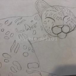 freetoedit lepoard drawing pencilart savetheanimals