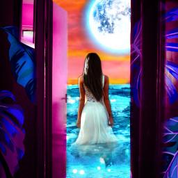 freetoedit myedit madewithpicsart woman beautiful srcmonsteramoment monsteramoment