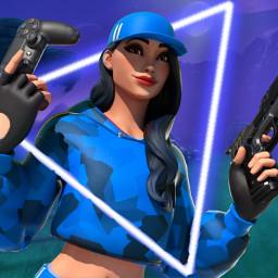 freetoedit fortnite blue ps4 neon