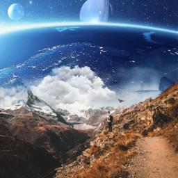 freetoedit myedit space surreal edit ecsurrealisticworld surrealisticworld