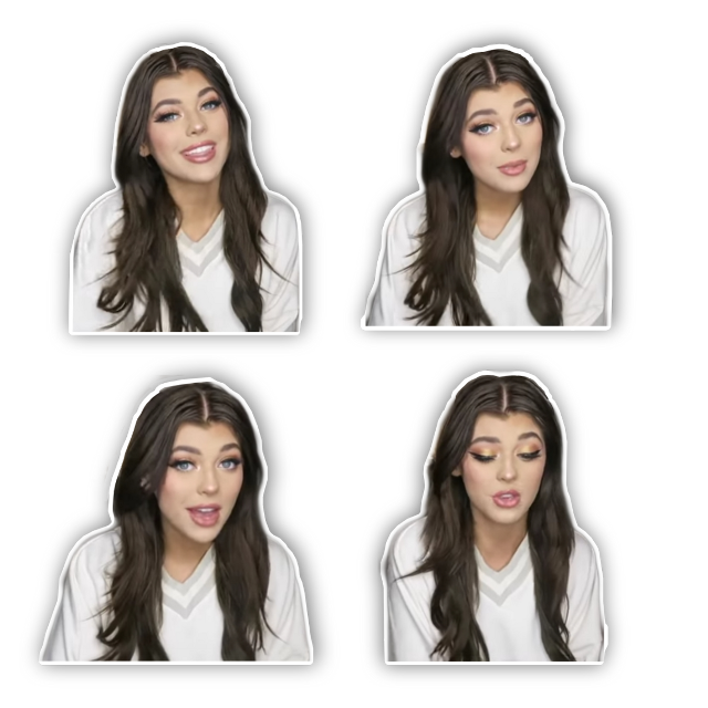 pls give credit if used! Loren sticker pack 💖 #lorengray #overlay #complex #cute