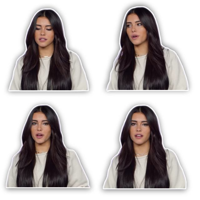 pls give credit if used! Madison sticker pack 💞 #madisonbeer #overlay #complex #cute