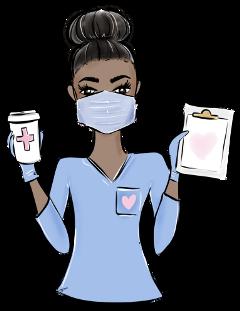 nurse medical covid19 coronavirus poorly