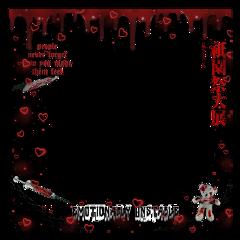 redaesthetic blood creepy boarder emotionallyunstable freetoedit
