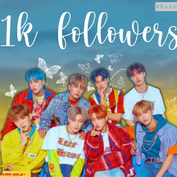 thankyou 1k 1kfollowers ateez ateezedit