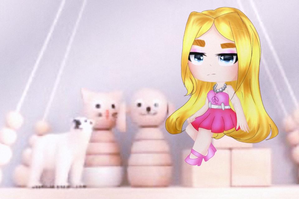 Барби окда ;-; 👏      #gachalife #gachalifeedit #gachalifeedits  #barbie  #гачалайф #гачалайфобработка