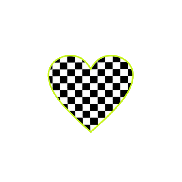 #freetoedit #heart #black #white #green #goth #gotic #emo #aesthetic