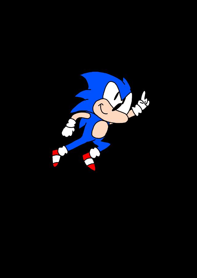 He big jump# #sonicthehedgehog