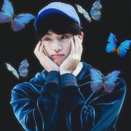 freetoedit bts jin kim_seokjin blue