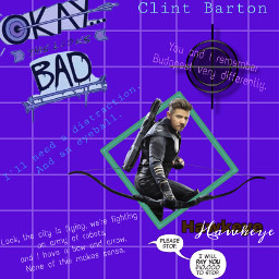 hawkeye edit hawkeyeedit clintbarton clintbartonedit freetoedit
