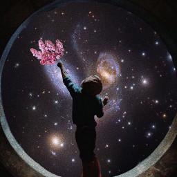freetoedit lilas boy space nightsky irclilacinmyhand lilacinmyhand